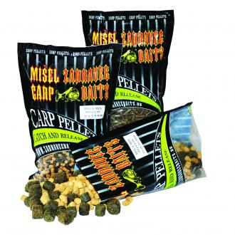 PVA PELLETS MIX 800g -3/4.5/6mm - Halibut